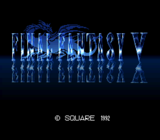 Final Fantasy V (Japan) [En by RPGe v1.1] [Hack by JCE3000GT v1.0] (Easy Type)