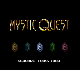 Final Fantasy USA - Mystic Quest (Japan)