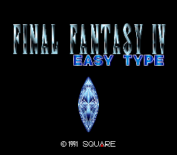Final Fantasy IV - Easy Type (Japan)