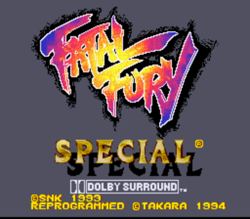 Fatal Fury Special (Europe) (Beta)