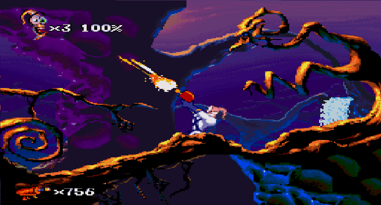 Earthworm Jim 2 (Europe) game