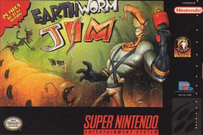 Earthworm Jim (Europe) game