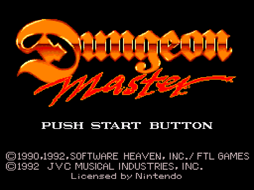 Dungeon Master (Japan) (Rev A)