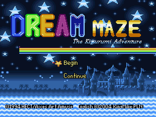 Dream Maze - Kigurumi Daibouken (Japan) [En by KingMike v1.0b] (~Dream Maze - The Kigurumi Adventure)