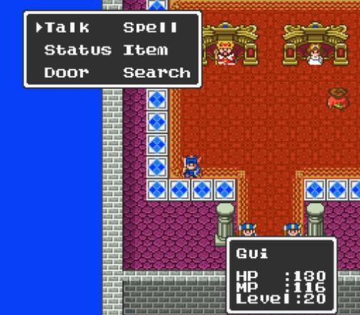 Dragon Quest I & II (Japan) [En by RPGOne v2.0] (Dragon Quest Version)