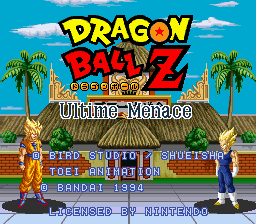 Dragon Ball Z - Ultime Menace (France)