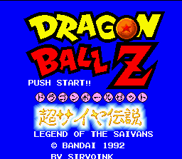 Dragon Ball Z - Super Saiya Densetsu (Japan) (Rev 1) [En by Klepto v0.96] (~Dragon Ball Z - Legend of the Saiyans) (Incomplete)