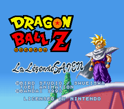 Dragon Ball Z - La Legende Saien (France)