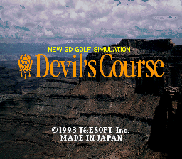 Devil's Course (Japan) (Sample)