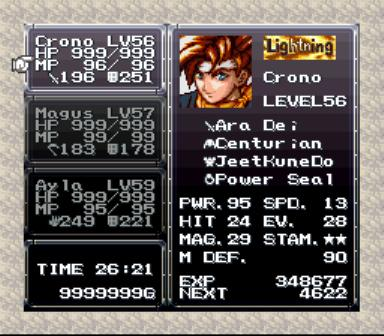 Chrono Trigger - Crimson Echoes (Fan Made Game) game