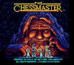 Chessmaster, The (Europe) on snes