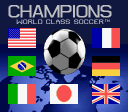 Champions World Class Soccer (Japan)