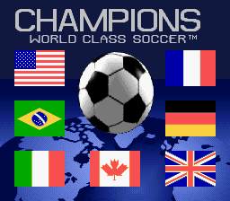 Champions World Class Soccer (Europe) (En,Fr,De,Es)