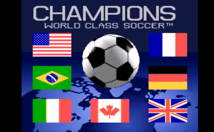 Champions World Class Soccer (Europe) (En,Fr,De,Es) game