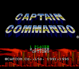 Captain Commando (Japan)