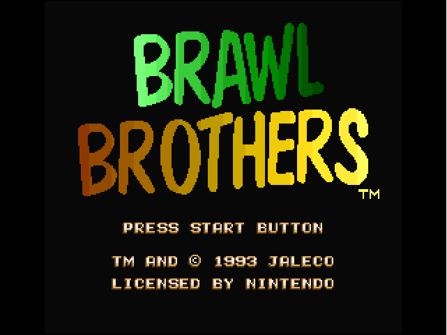 Brawl Brothers - Rival Turf! 2 (Europe) game