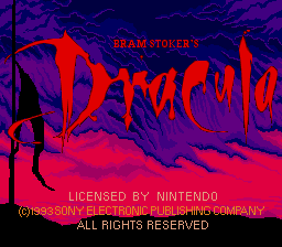 Bram Stoker's Dracula (Europe) on snes