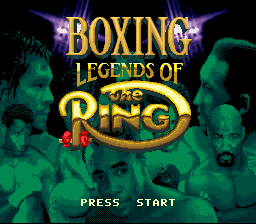Boxing Legends of the Ring (Europe)