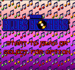 Blues Brothers, The (Europe) on snes