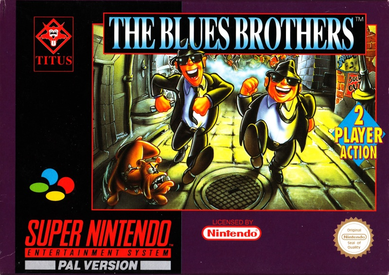 Blues Brothers, The (Europe) on snes game
