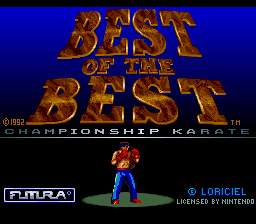Best of the Best - Championship Karate (Europe) (Beta)