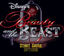 Beauty and the Beast (Europe) on snes