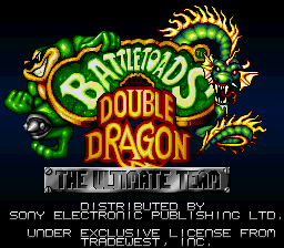 Battletoads & Double Dragon - The Ultimate Team (Europe) on snes