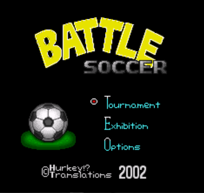 Battle Soccer - Field no Hasha (Japan) [En by Hurkey v1.0]