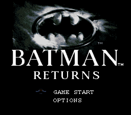 Batman Returns (Europe) on snes
