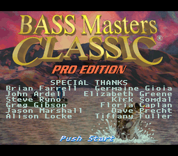 BASS Masters Classic - Pro Edition (Europe)