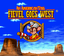 American Tail, An - Fievel Goes West (Europe)