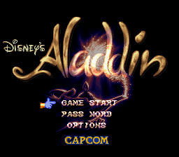 Aladdin (Europe) on snes