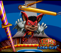 Aero the Acro-Bat (Europe)