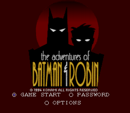 Adventures of Batman & Robin, The (Europe)