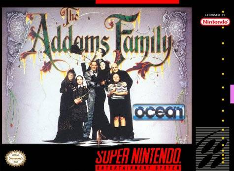 Addams Family, The (Japan) game