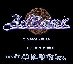 ActRaiser (Germany)