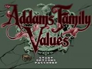 Addams Family Values on Snes Game
