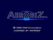 Aerobiz Supersonic on Snes
