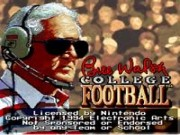 Bill Walsh College Football on Snes