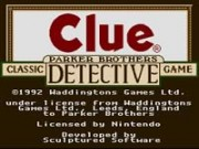 Clue on Snes