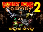 Donkey Kong Country 2 - Brigand Barrage Game