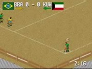 Fever Pitch Soccer on Snes