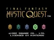 Final Fantasy Mystic Quest Game