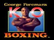 George Foremans KO Boxing Game