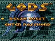 Gods on Snes