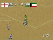 Head-On Soccer on Snes