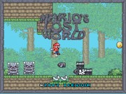 Mario's Lost World