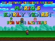 Marios Early Years - Fun With Letters
