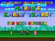 Marios Early Years - Fun With Numbers