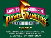 Mighty Morphin Power Rangers - The Fighting Edition game